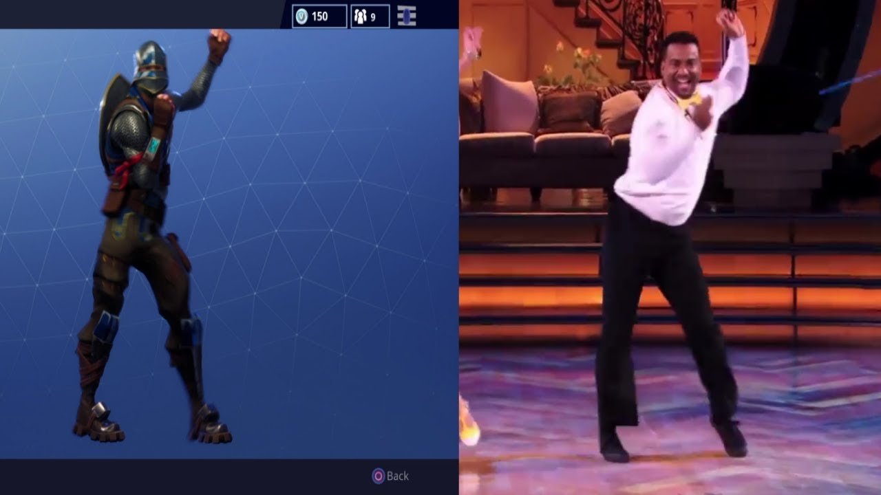 Fortnite Fresh Dance Reference Side By Side Youtube