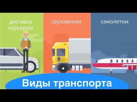Транспортная логистика. Виды транспорта.