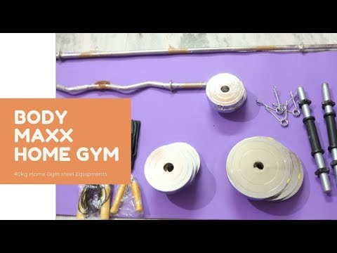 40 Kg Steel Home Gym Equipment | Body MAXX | Unboxing