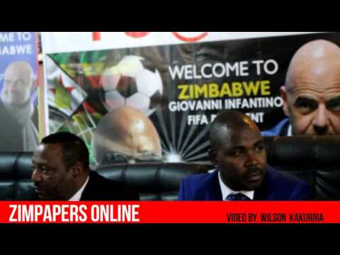 Press conference on FIFA president Gianni Infantino's visit to Zimbabwe for the first time tomorrow.