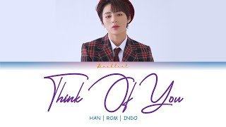 HA SUNG WOON (하성운) - Think of You (HAN/ROM/INDO Lyrics/가사) 그녀의 사생활 (Her Private Life) OST Part.6