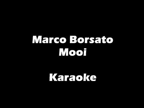 Marco Borsato - Mooi - Karaoke