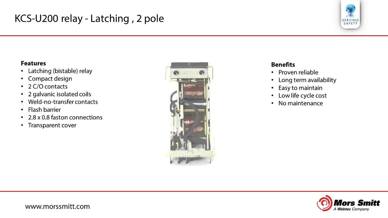 2 pole relay diagram [ 1280 x 720 Pixel ]