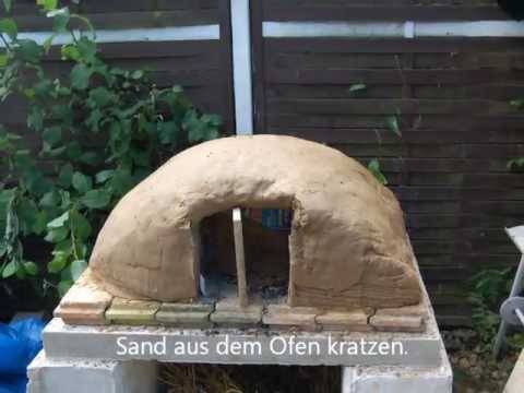 Lehmofen bauen build a clay oven  YouTube