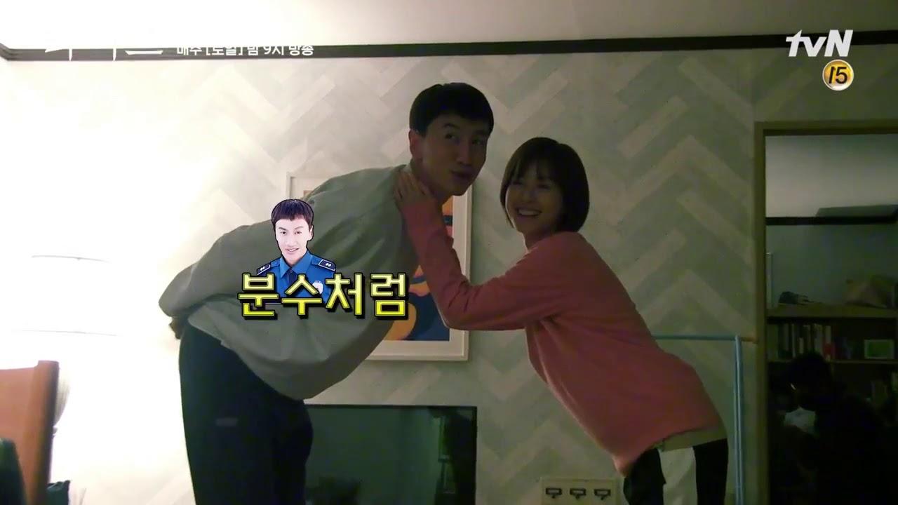 Lee Kwang soo tvN 'Live' Making 4 Kiss scene