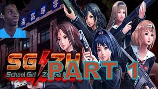 School Girl Zombie Hunter (PC) Walkthrough Part 1 With Commrntary