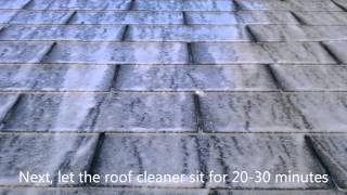 Does Roof Resolve Roof Cleaner Work