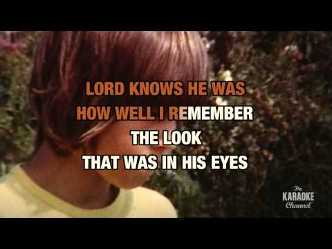 """Son-Of-A Preacher Man in the Style of """"Dusty Springfield"""" karaoke video with lyrics"""