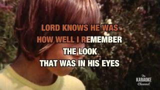 "Son-Of-A Preacher Man in the Style of ""Dusty Springfield"" karaoke video with lyrics"