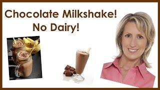Dairy-free Chocolate Milkshake