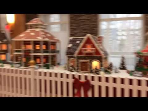 Turning Stone Resort Casino Gingerbread Village