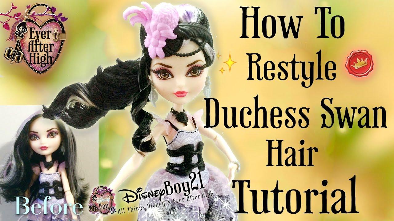 restyle duchess swan doll