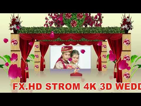 Edius 7, 8, 9  Project Song,  3D Wedding Effect, Wedding Song