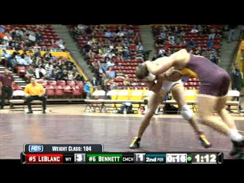 2011 NWCA All Star Classic 184 lbs Joe LeBlanc vs. Ben Bennett