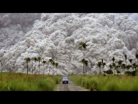 20th Century's 2nd Largest Volcanic Eruption - Mt Pinatubo-Eruption