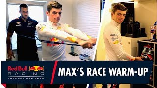 Getting into Max mode! | Max Verstappen's Japanese Grand Prix race warm-up