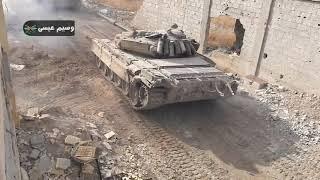 Сирия. Правительственная армия в боях за ВГ (2018)