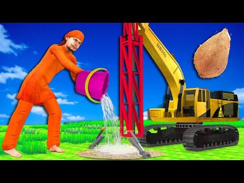 ड्रिलिंग वाहन Drilling Vehicle Comedy Video हिंदी कहानिया Hindi Kahaniya Funny Hindi Comedy Stories