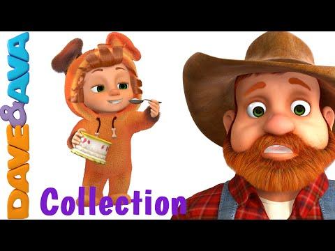 Johny Johny Yes Papa   Nursery Rhymes Compilation   YouTube Nursery Rhymes from Dave and Ava