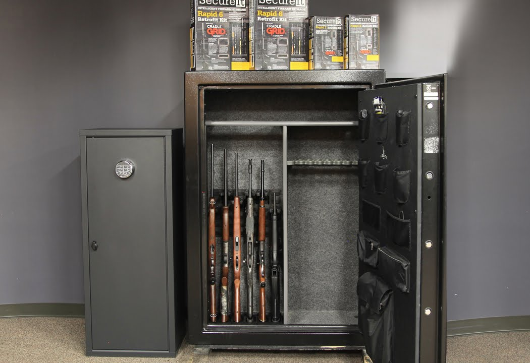 Rapid 6 Retrofit Kit Stocked Safe Gun Safe Upgrades