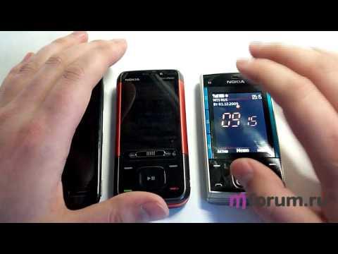 Сравнение звучания динамиков Nokia X3, 5800 и 5610