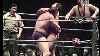 Andre and Strongbow vs. Jonathan and Heller-WWWF-73