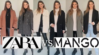 NEW IN ZARA VS MANGO HAUL | AUTUMN FALL WINTER TRY ON 2020