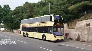 Hong Kong Bus CTB 6493 @ 1 城巴 Alexander Dennis Enviro500 MMC New Facelift 跑馬地(上) 摩星嶺