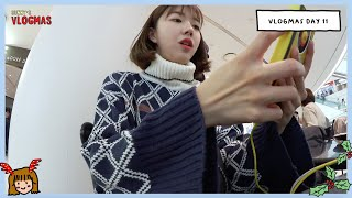 VLOGMAS D11: Shopping di MALL KECE KOREA TIME SQUARE!
