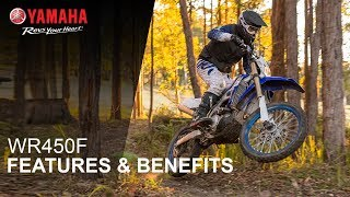 Yamaha WR450F Features & Benefits