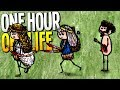 BRAVE WARRIOR PRINCESS PROTECTS HER VILLAGE FROM EVIL CORRUPTION - One Hour One Life Gameplay