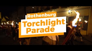 Torchlight Parade At Rothenburg s Imperial City Days