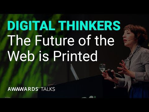 The Future of the Web is Printed - Chiara Aliotta @Awwwards Conf. Amsterdam