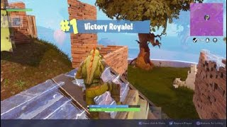 Fortnite easy but stressfully without a CQC weapon