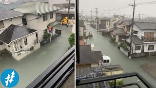 Betapa BERSIHNYA JEPANG...! Banjir Aja Airnya Tetap Jernih. Bandingkan Dengan Indonesia
