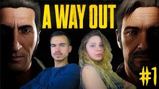 OMG PRISON BREAK 2.0 !! A Way Out : Lets Play #1