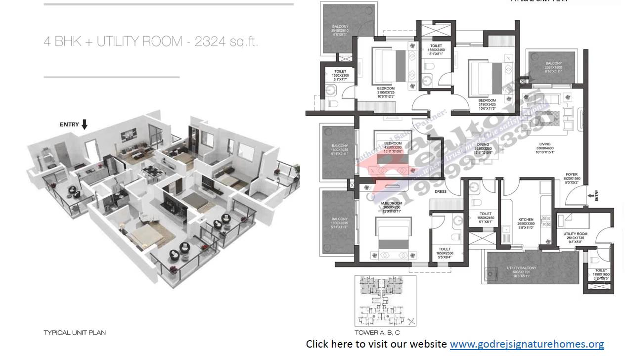 Floor plans 9999913391 godrej summit signature homes for Summit homes floor plans
