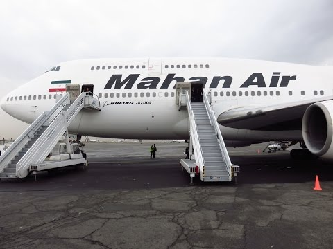 Mahan Air 747-3B3(SCD) - Flight from Bandar Abbas Int'l (BND) to Tehran Mehrabad Int'l (THR), Iran
