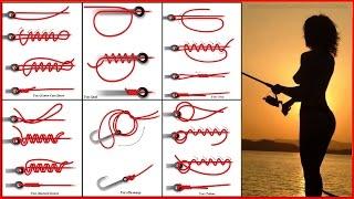 Как вязать основные рыболовные узлы для крючков и для поводков.(Существует огромное количество рыболовных узлов, которые используются в разных сферах деятельности челов..., 2016-04-26T10:21:09.000Z)
