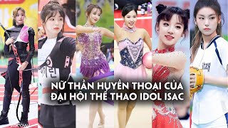 Dàn nữ thần huyền thoại của đại hội thể thao Idol: visual tuyệt đẹp,khí chất xuất thần khi thi đấu