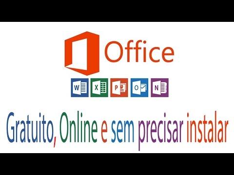 Office 2017 Gratuito ( sem precisar instalar ) - Online Original Microsoft