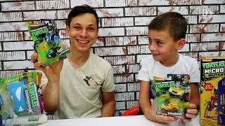 Черепашки ниндзя  - веселые игры для мальчиков