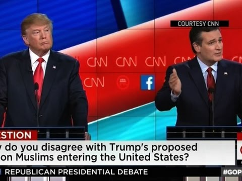 Clashes Over National Security In 5th GOP Debate - YouTube