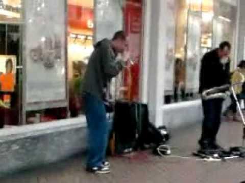 Birmingham street singer