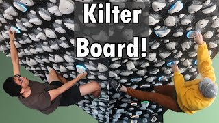 Kilter Board Competition IFSC WorldCup Style - Geek Climber V.S. Long-time Subscriber, Jon!