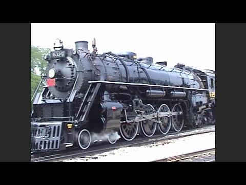 Grand Trunk 6325 Restoration Rollout (Ohio Central Railroad)