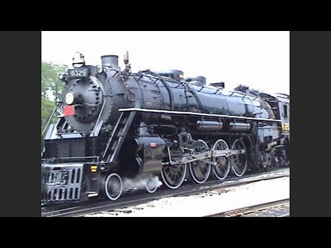 Grand Trunk 6325 Restoration Rollout (Ohio Central Railroad)