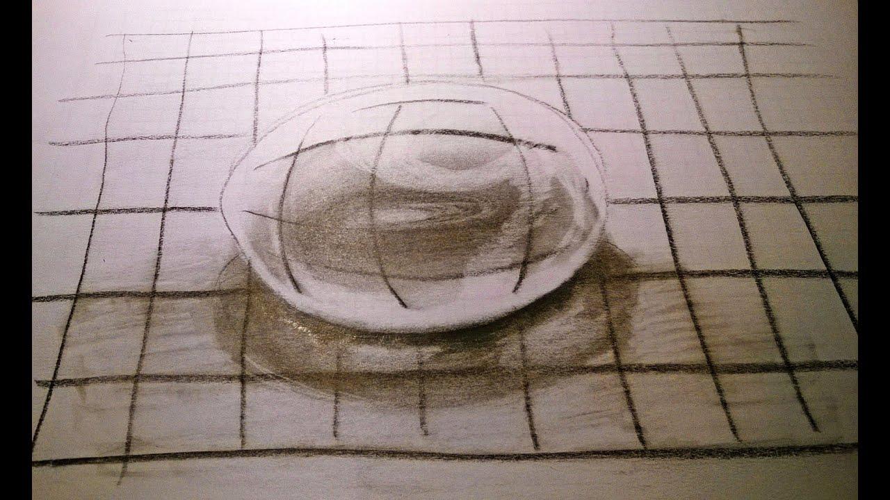Water druppel tekenen in 3d voor beginners for Tekenen 3d