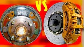 Какие тормоза лучше: дисковые или барабанные