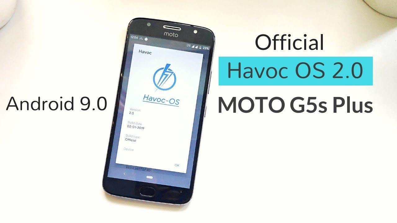Official Havoc OS 2 0 Android 9 on MOTO G5s PLUS - Review | Hindi